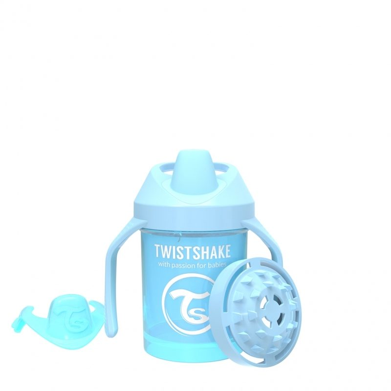 Поильник Twistshake Mini Cup 230 мл. Жемчужный синий