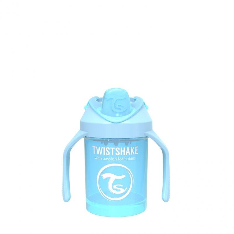 Поильник Twistshake Mini Cup 230 мл. Жемчужный синий_1