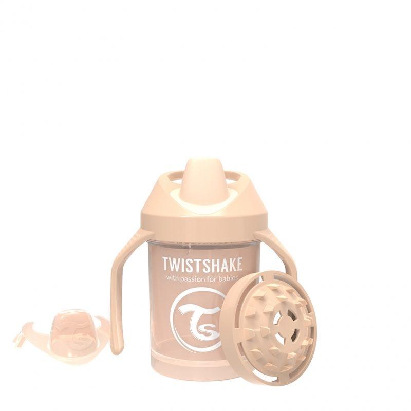 Поильник Twistshake Mini Cup 230 мл_ Жемчужный Шампань