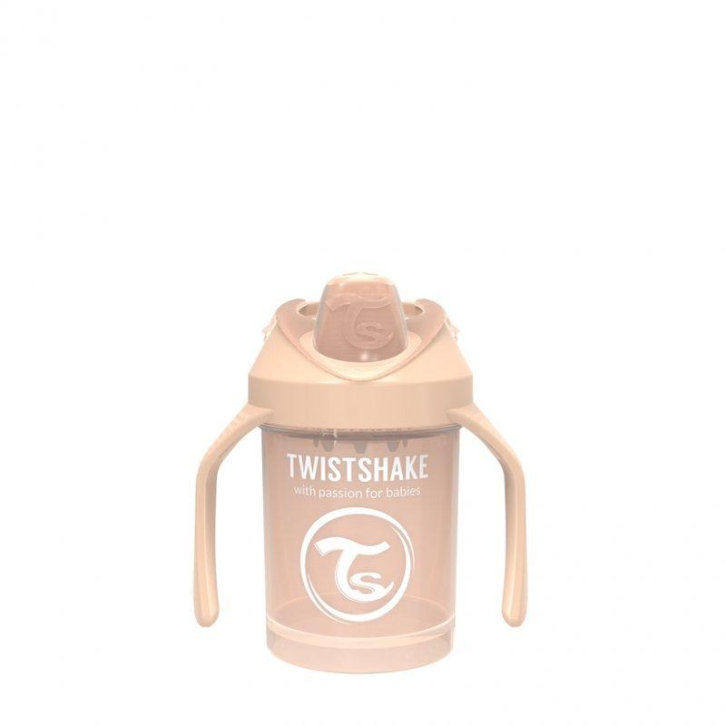 Поильник Twistshake Mini Cup 230 мл_ Жемчужный Шампань_1