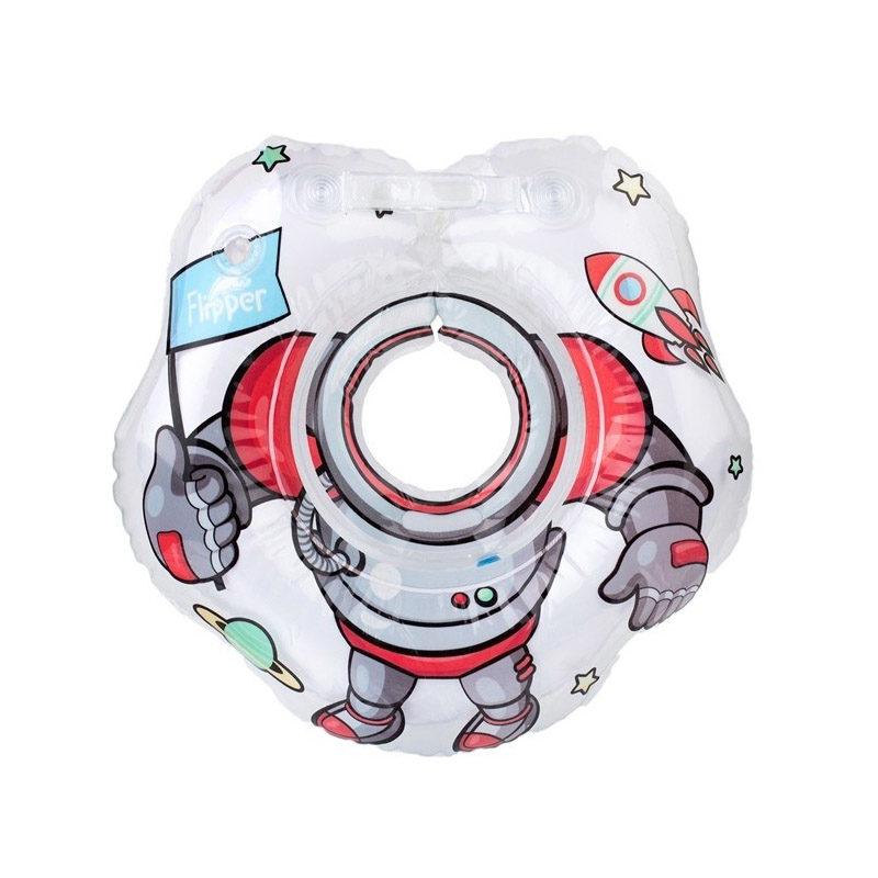 ROXY-KIDS Flipper круг на шею для купания малышей, Космонавт