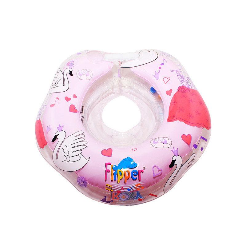 ROXY-KIDS Flipper круг на шею для купания малышей, Лебединое озеро
