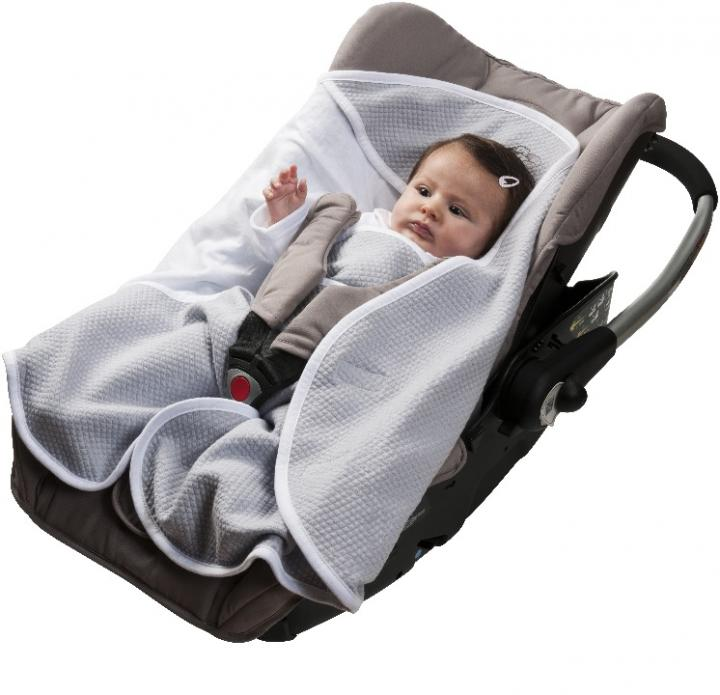Red Castle Babynomade™ конверт из хлопка O-6M GREY