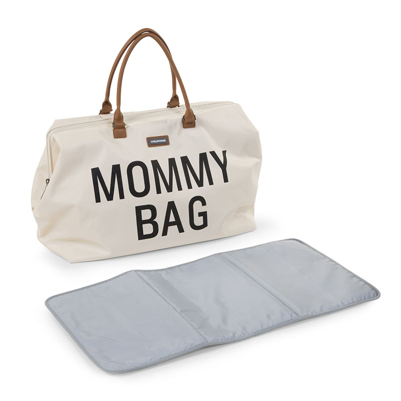 Мама сумка рюкзак off white