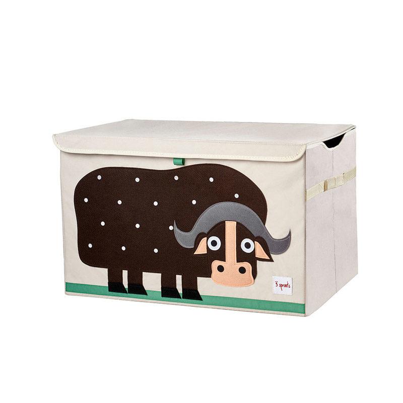 Сундук для игрушек 3 Sprouts Коричневый буйвол