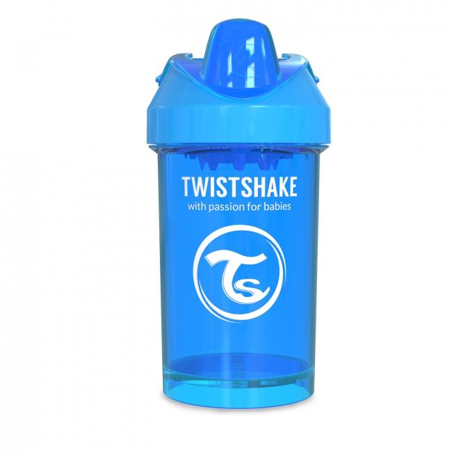 Twistshake Поильник Crawler Cup с ручками и сеточкой для смешивания, 300 мл, Cookiecrumb
