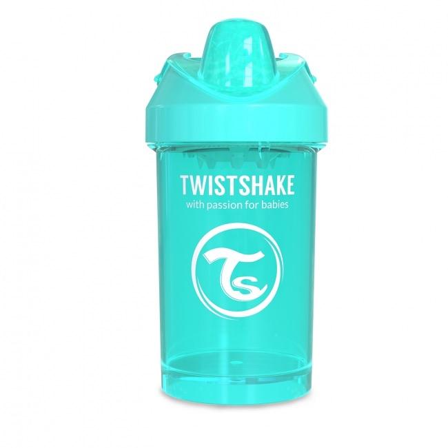 Twistshake Поильник Crawler Cup с ручками и сеточкой для смешивания, 300 мл, Sleepyhead