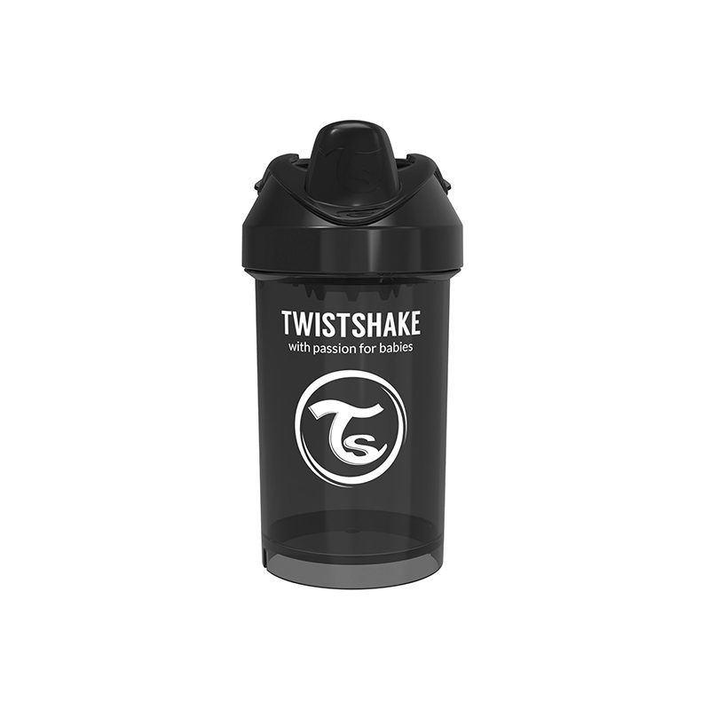 Twistshake Поильник Twistshake Mini Cup, 300 мл, 8м+, Чёрный Superhero