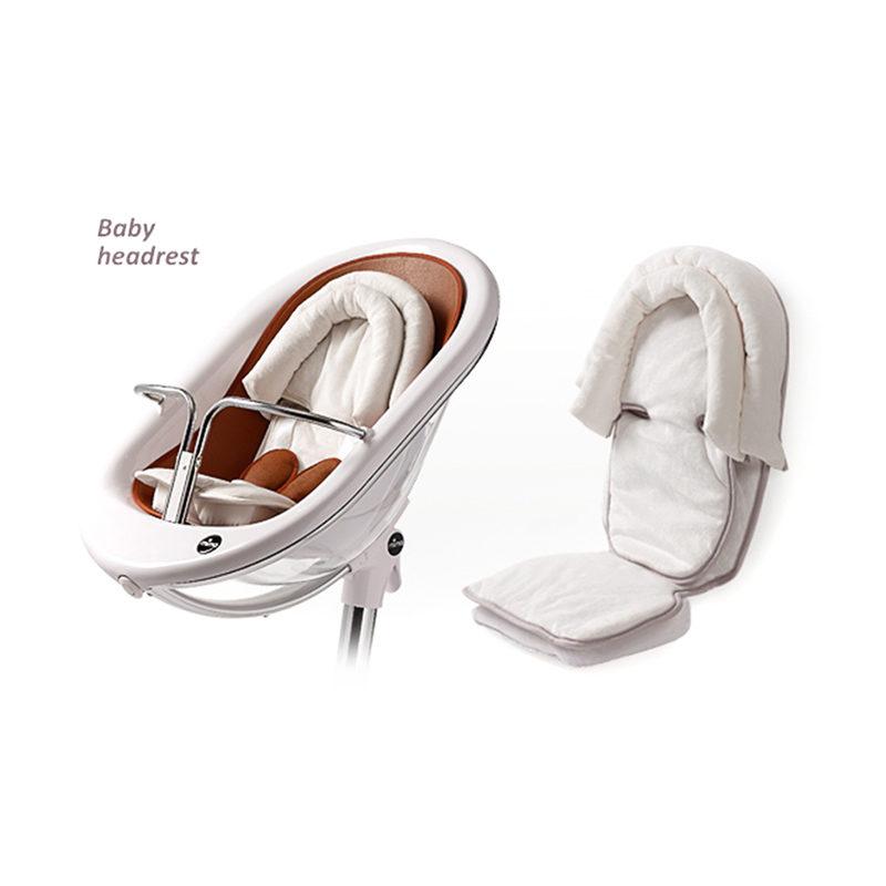 Вставка для новорожденного в стул Mima Baby Head rest белый S101-19BG