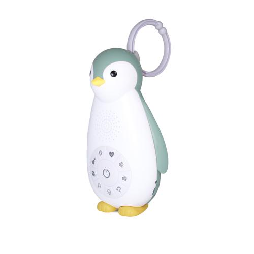 Zazu Беспроводная колонка+проигрыватель+ночник пингвинёнок Зои, Синий