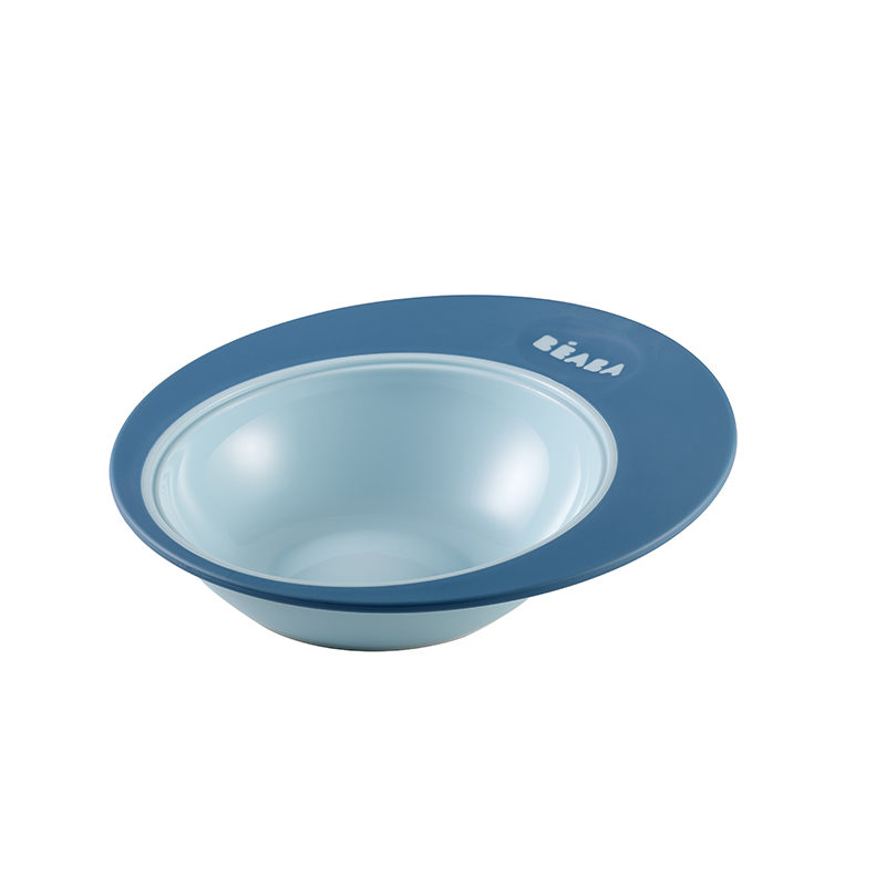 Beaba Tranning plate Ellipse Тарелка Blue