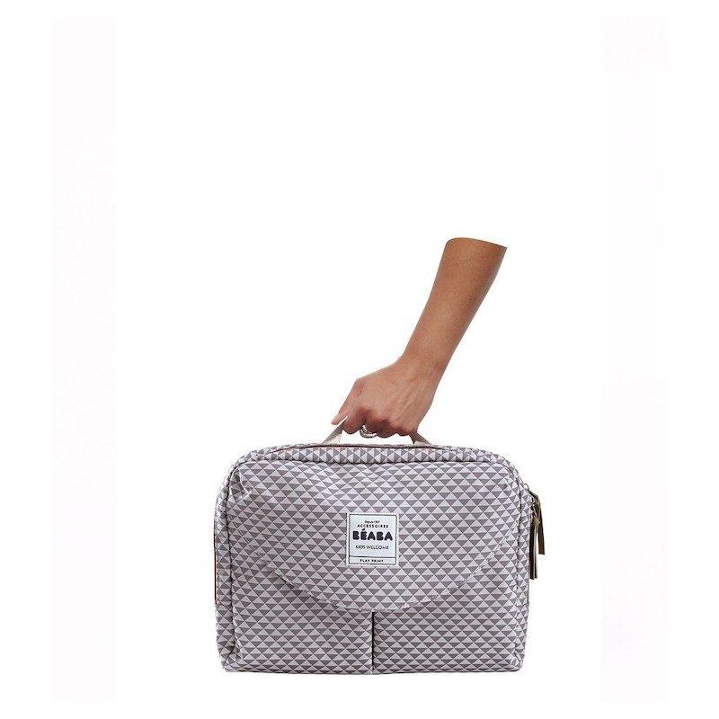 beaba Сумка для мамы Geneva Changing Bag II, Grey-4