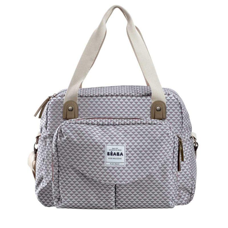 beaba Сумка для мамы Geneva Changing Bag II, Grey