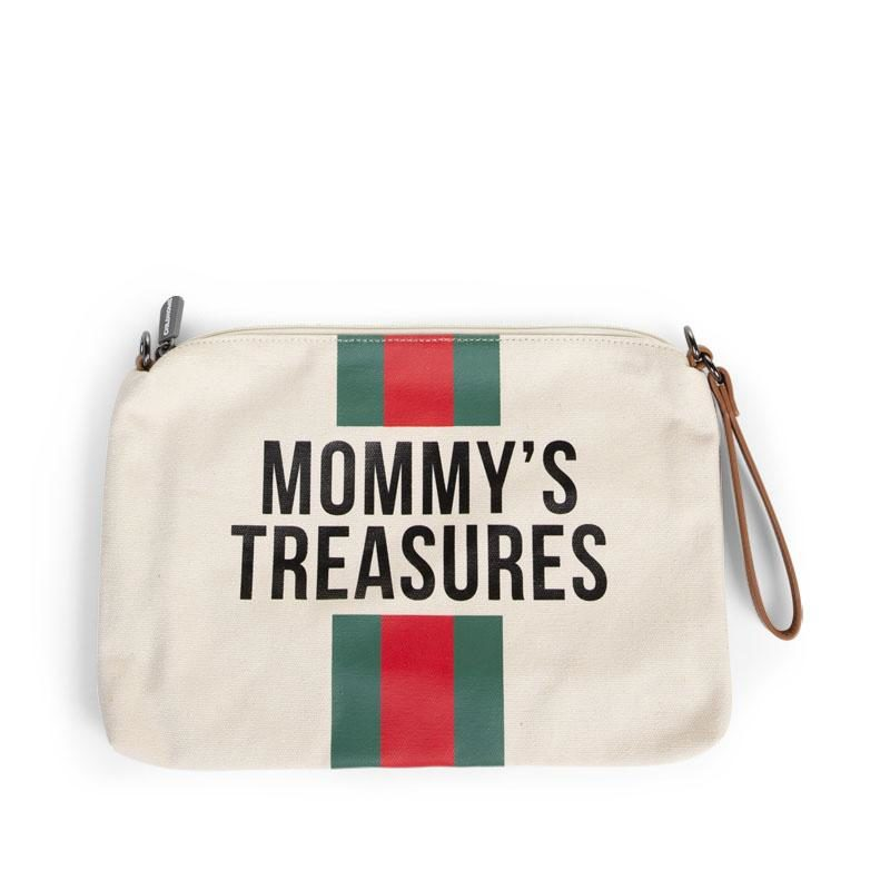 childhome-mommy-clutch-canvas-off-white-stripes-green-red-01