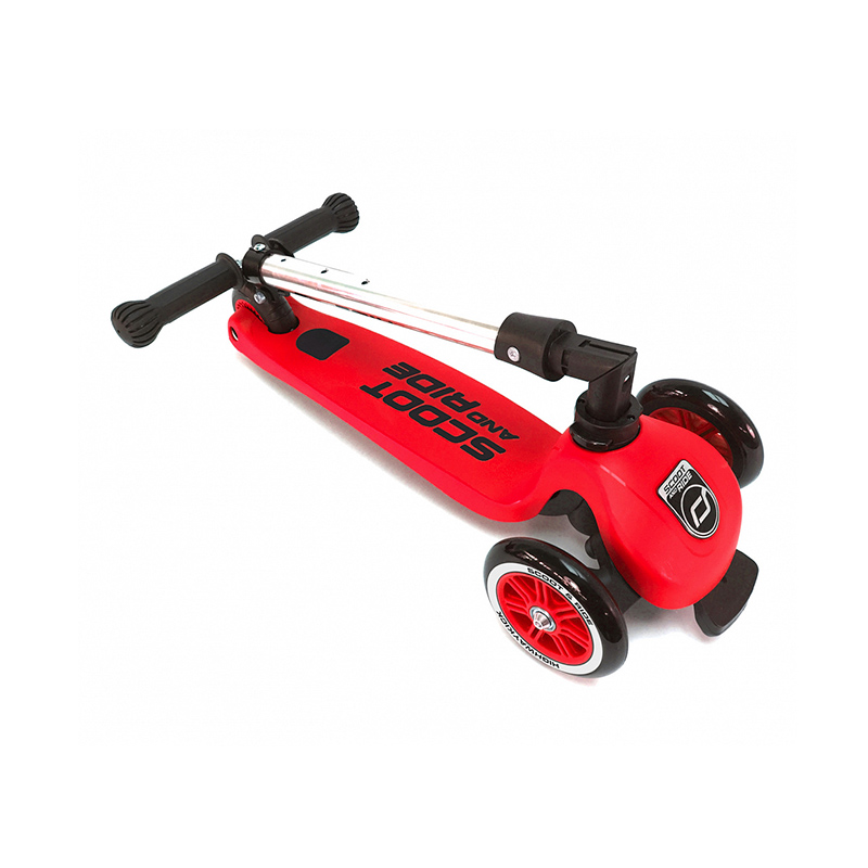 Scoot&Ride Детский трехколесный самокат со складной ручкой