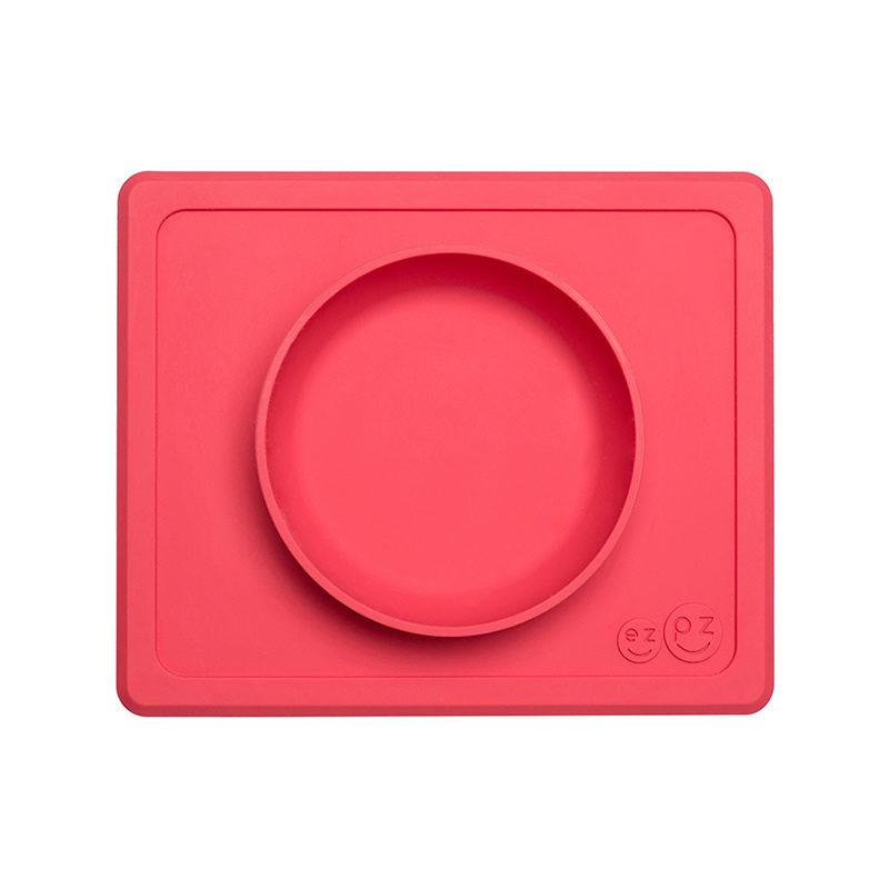 Ezpz Mini Bowl силиконовая тарелка-плейсмат :) коралловый