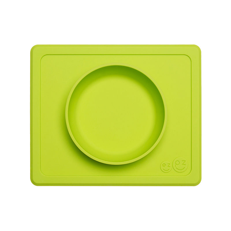 Ezpz Mini Bowl Packaged силиконовая тарелка-плейсмат :) лайм