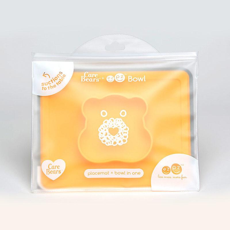 Ezpz-Ezpz-Happy-Bowl-Care-Edition-Marigold,-желтый