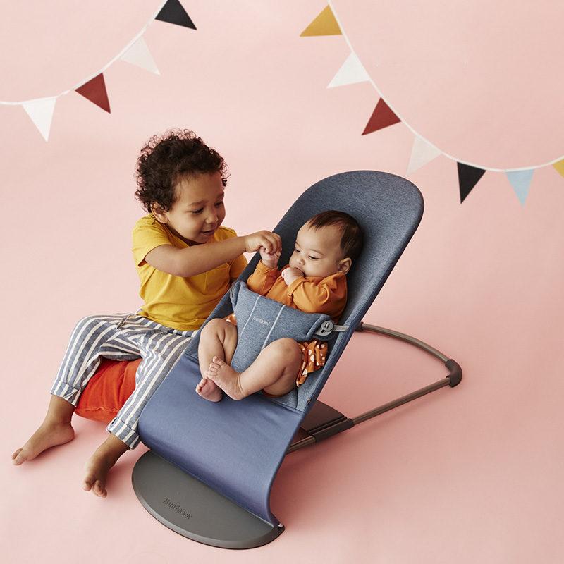 кресло шезлонг babybjorn balance soft