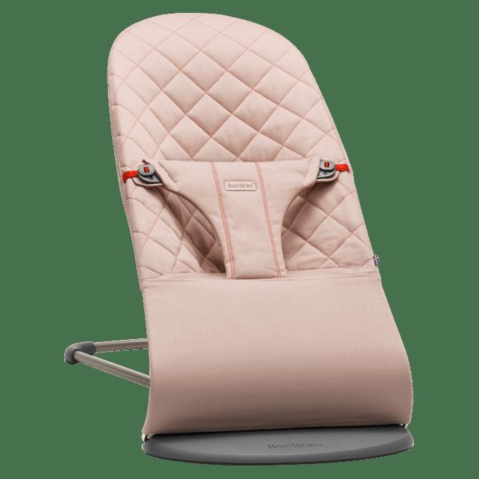 Babybjorn, Кресло-шезлонг Bliss Cotton, Темно-розовый