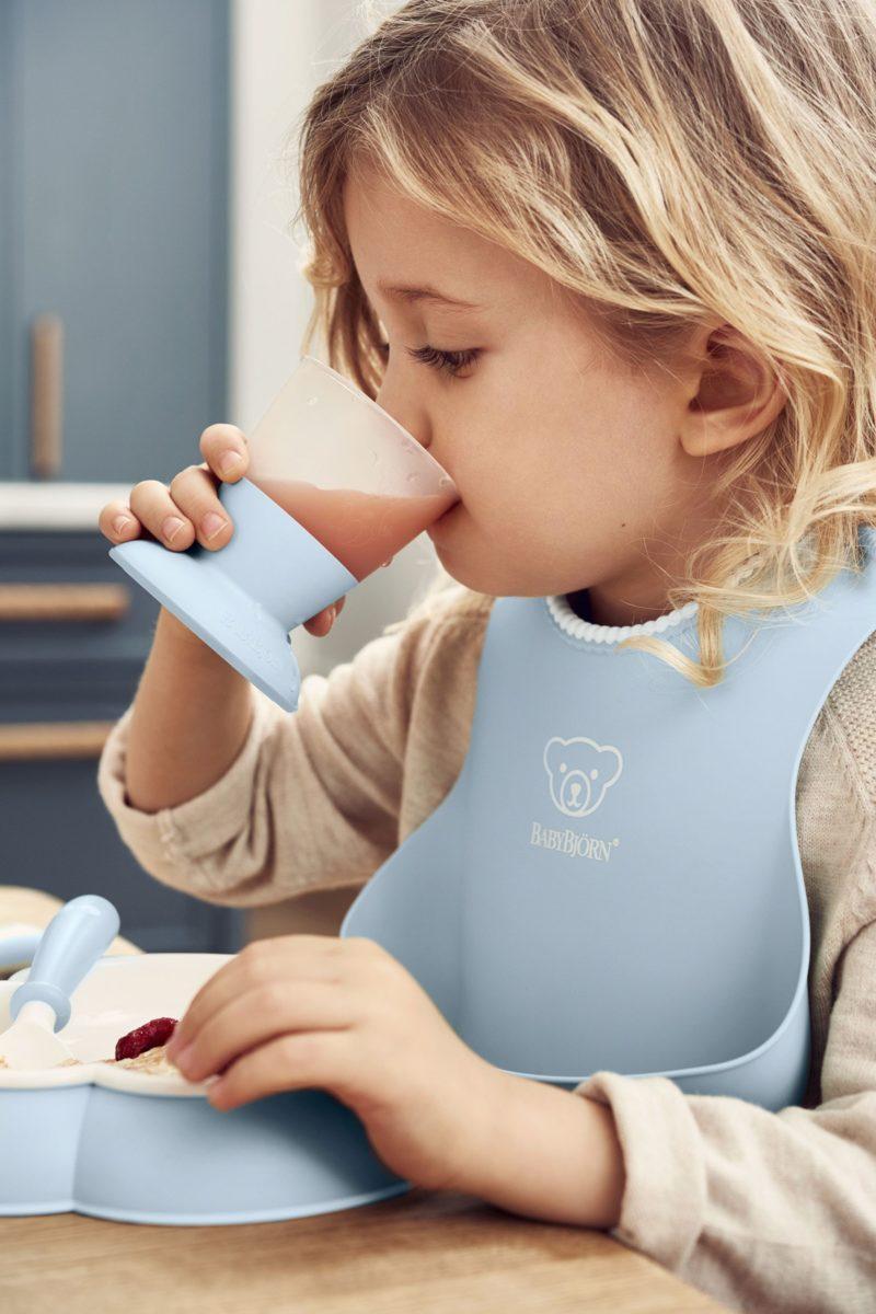 Babybjorn Набор для кормления, Нежно-голубой