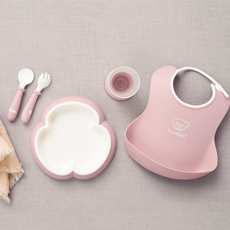 Babybjorn Набор для кормления, Нежно-розовый-2