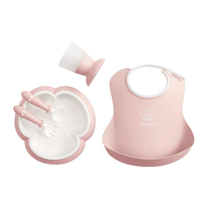 Babybjorn Набор для кормления, Нежно-розовый