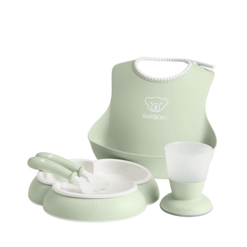 Babybjorn Набор для кормления, Нежно-зеленый-3