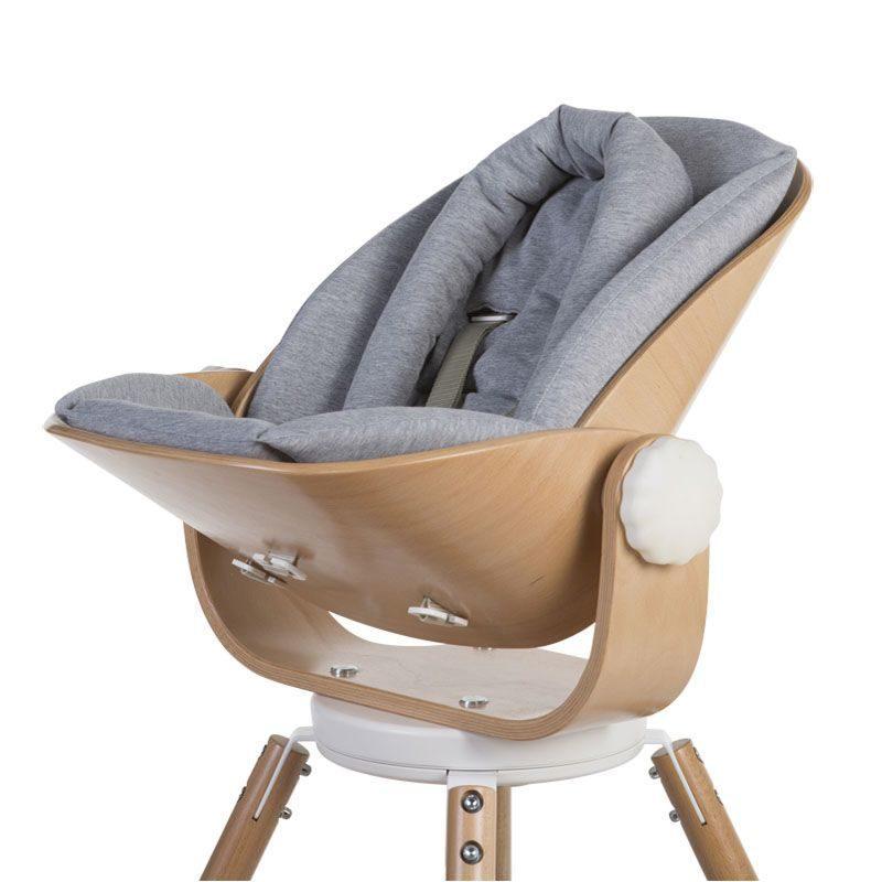 Childhome Evolu Подушка для новорожденных, Jersey GREY
