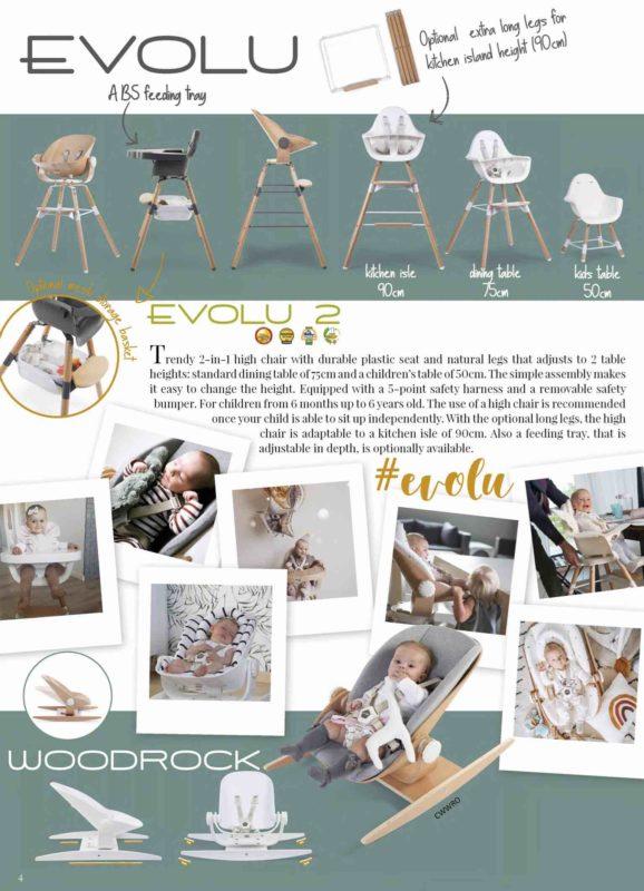 Childhome evolu стульчик