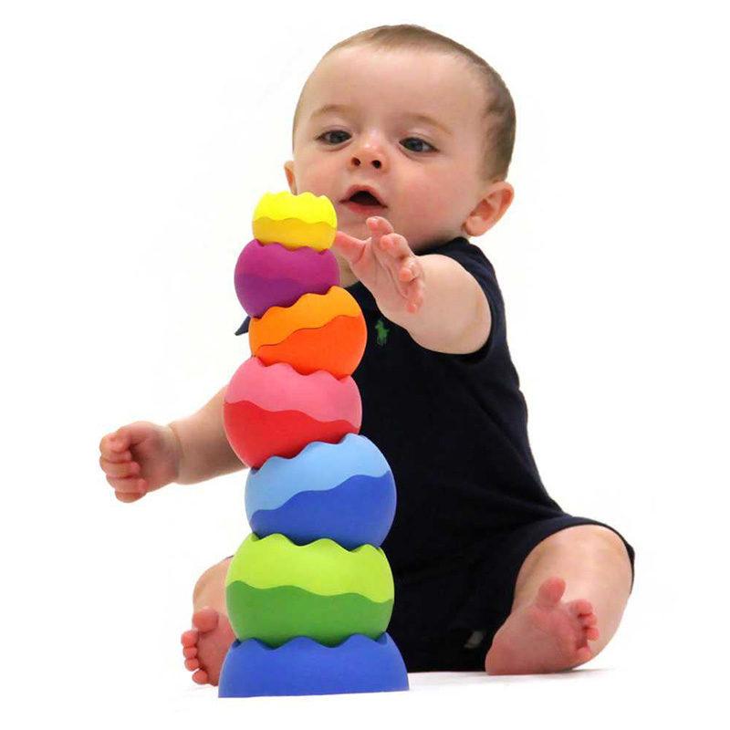 Fat Brain Toys Пирамидка Tobbles Neo