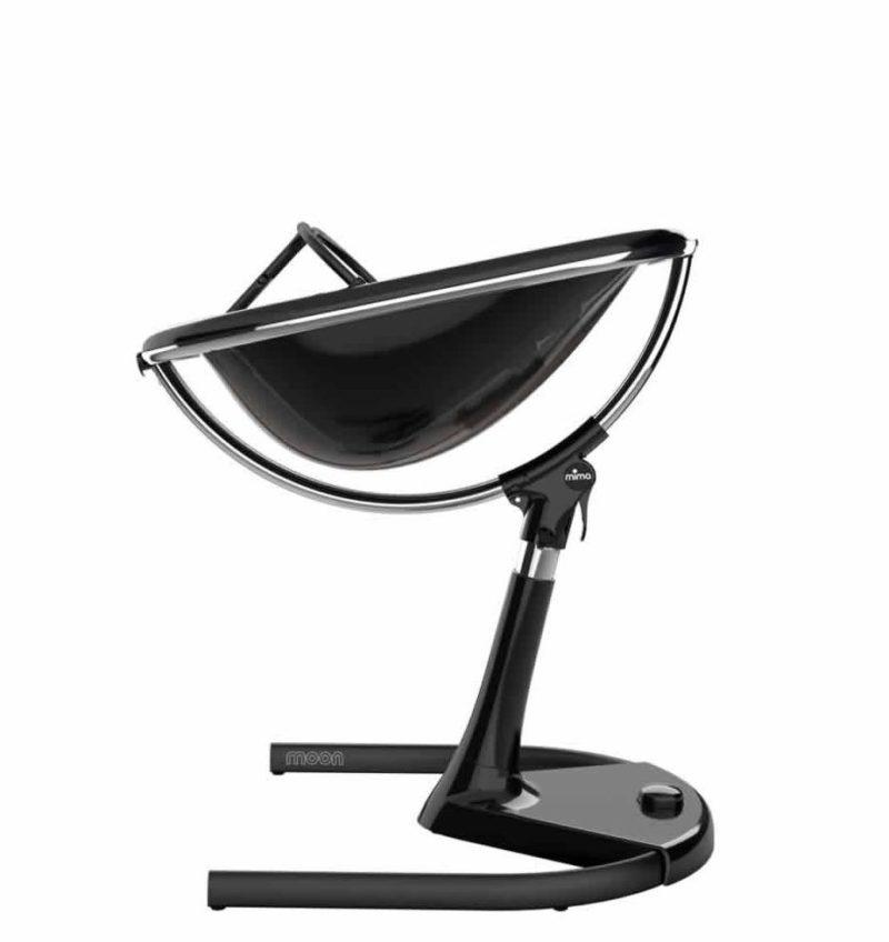 MIMA Moon 2G Детский стульчик для кормления, Чёрное основание