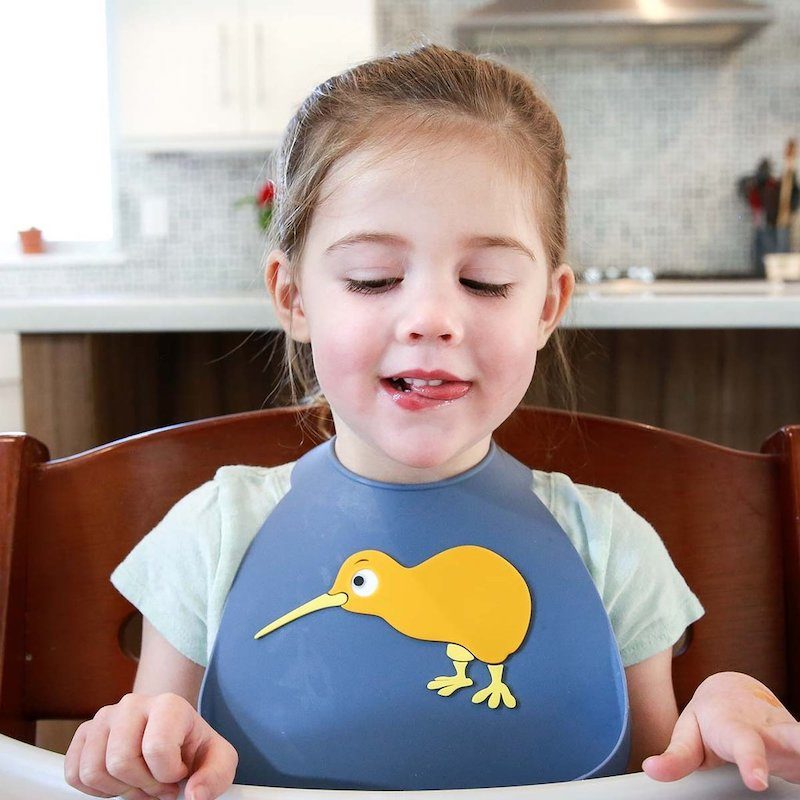 Make My Day Нагрудник Baby Bib - Kiwi