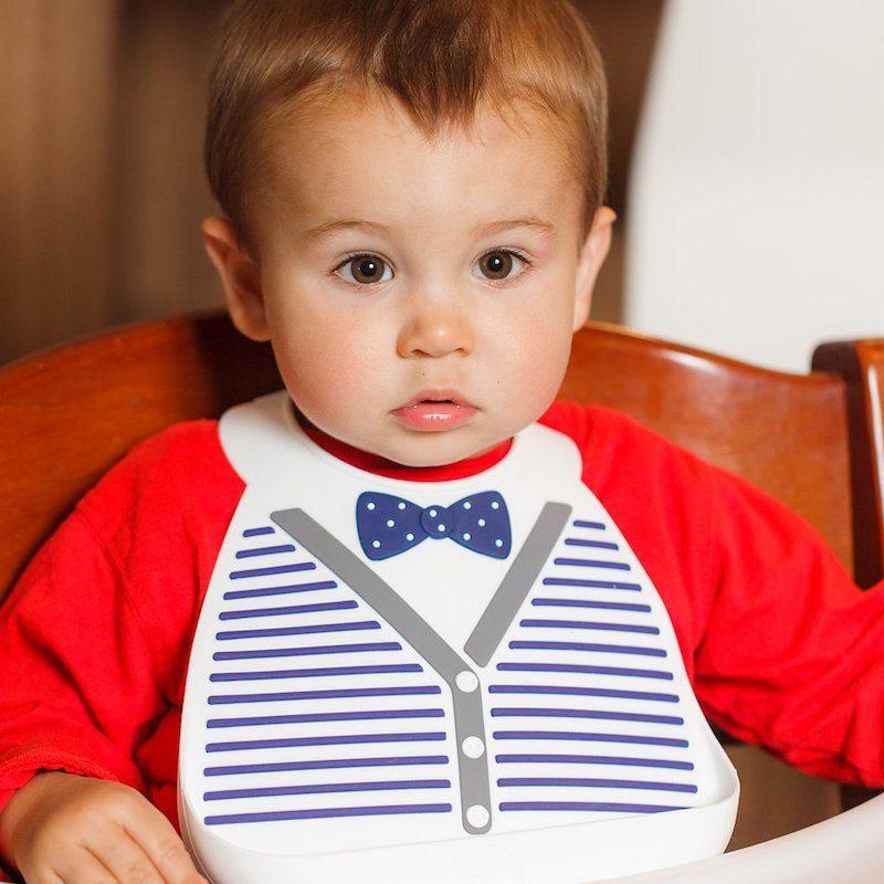 Make My Day Нагрудник Baby Bib - Little gentleman