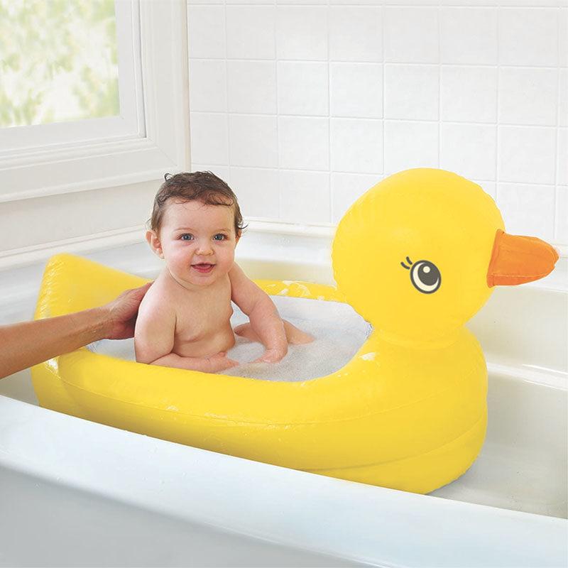 Munchkin надувная ванночка Утка, 6 -24 мес.-5