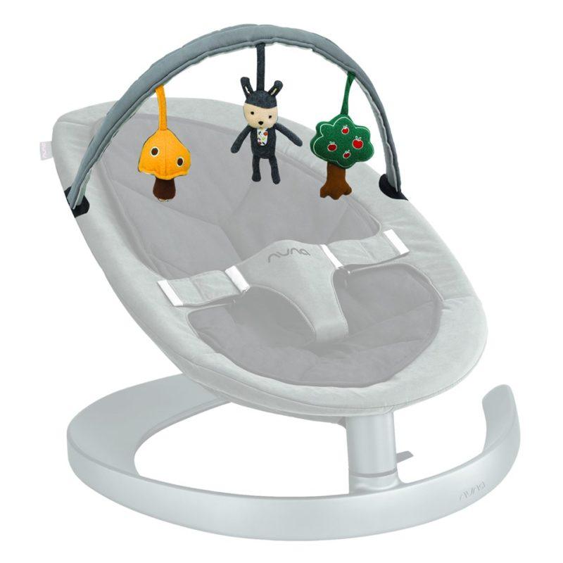 Nuna Reversible Toy Bar Дуга с игрушками для шезлонга Leaf и Leaf Curv
