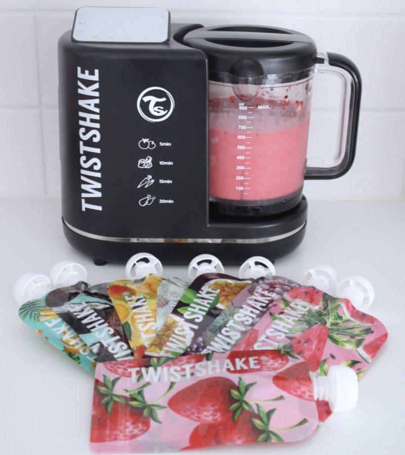 wistshake Food Processor Комбайн 6 в 1 для приготовления детского питания, промонабор