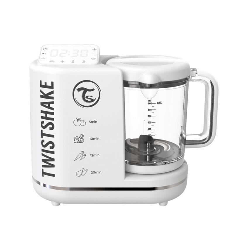 Twistshake Комбайн 6 в 1 для приготовления детского питания Food Processor, Белый, промонабор