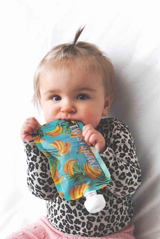 Twistshake Многоразовые пакеты для детского питания (паучи)