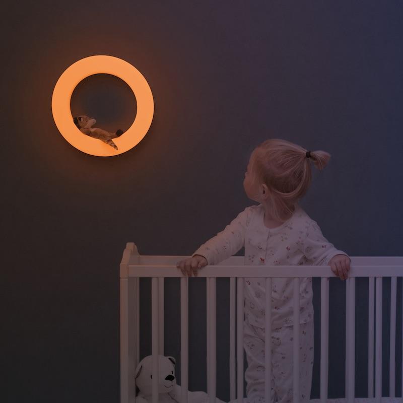 Zazu Ночник с магнитной мягкой игрушкой