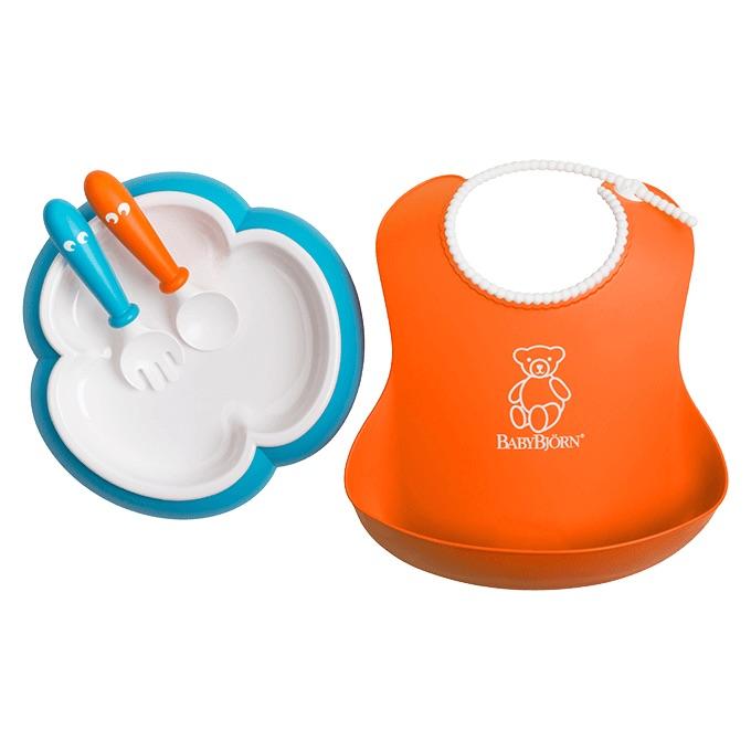 baby-feeding-set-orange-turquoise-078082-babybjorn