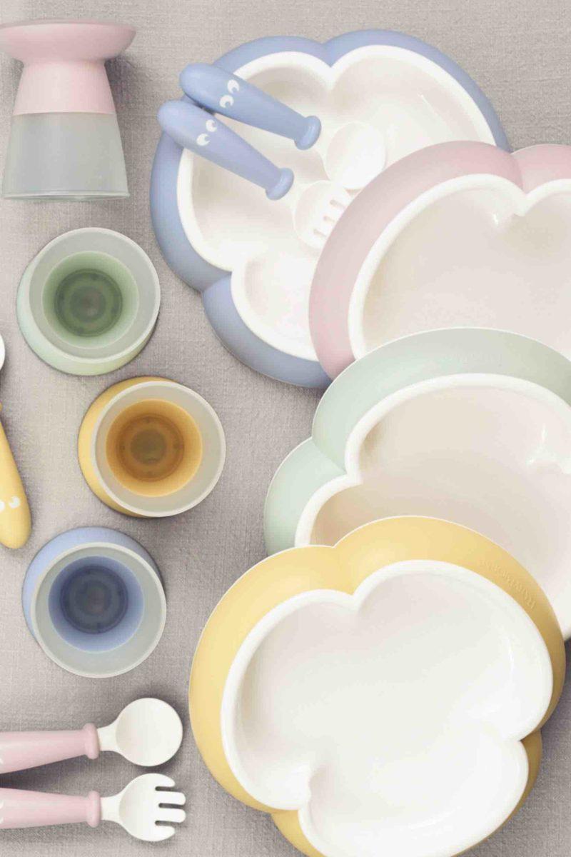 комплект посуды бейбибьорн