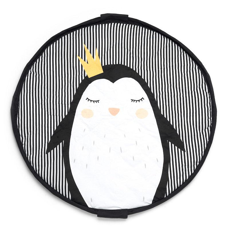 коврик и мешок для игрушек Soft _пингвин_1